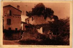 Sauveterre-de-Bearn Les Ruines du Chateau de Jeanne d'Albret - Sauveterre-de-Béarn