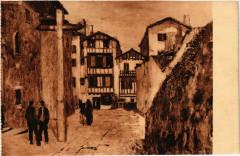Pays Basque Parvis de l'Eglise de Ciboure - Ciboure