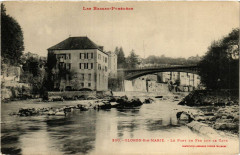 Oloron Sainte-Marie Le Pont en fer sur le gave - Oloron-Sainte-Marie