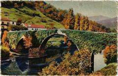Le Pays Basque Bidarray-Le tres Pittoresque et vieux pont - Bidarray