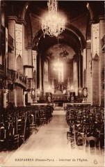 Hasparren Interieur de l'Eglise - Hasparren