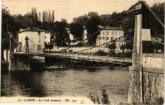 Cambo Le Pont suspendu - Sus
