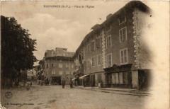 Hasparren - Place de l'Eglise - Hasparren