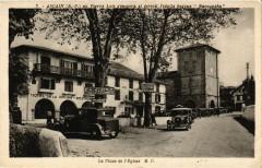 Ascain - La Place de l'Eglise - Ascain