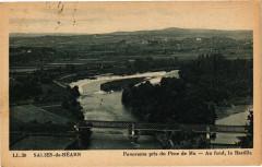 Sauveterre-de-Bearn - Panorama pris du Pene du Mu - Sauveterre-de-Béarn