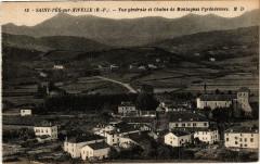 Saint-Pée-sur-Nivelle - Vue générale et Chaine de Montagnes - Saint-Pée-sur-Nivelle