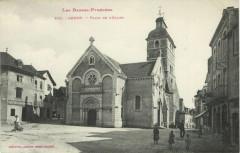 Les Basses-Pyrenées Arudy - Place du L'Eglise - Arudy
