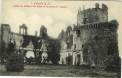 Bidache Ruines de Chateau des Ducs de Gramont (Xi.siecle - Bidache
