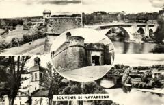 Souvenir de Navarrenx - Pont sur le Gare - Navarrenx