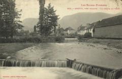 Les Basses-Pyrenées - Arette pres Aramits - La Chute du Vert - Arette