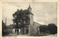 Gelos - Place de l'Eglise - Gelos