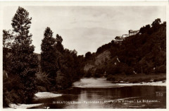 Biriatou (Bses-Pyrenées) Vue sur le Village - La Bidassoa - Biriatou