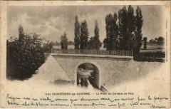 Sauveterre de Guyenne-Le pont Du Chemin De Fer - Sauveterre-de-Guyenne