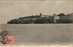Blaye - Les Remparts de la Citadelle coté de la Gironde - Blaye