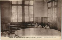 Aérium de la Fondation Wallerstein a Ares - Salle de jeu femmée - Arès