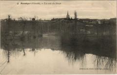Monsegur - un coin du Dropt - Monségur
