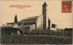 Saint-Emilion pres Libourne - Ancienne Eglise de Saint-Martin - Saint-Émilion
