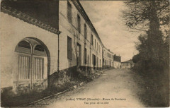 Yvrac - Route de Bordeaux - Vue prise de la cote - Yvrac