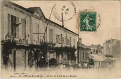 Saint-Jean-de-Blaignac - Hotel et café de la Marine - Saint-Jean-de-Blaignac
