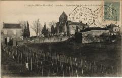 Saint-Jean-de-Blaignac - Eglise fortifiée de Saint-Jean - Saint-Jean-de-Blaignac