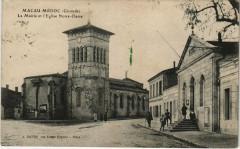 Macau-Médoc - La Mairie et l'Eglise Notre-Dame - Macau