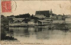Guitres pres Libourne - Les Promenades et L'Eglise - Guîtres