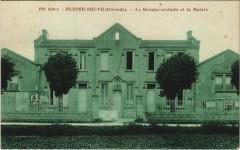 Pleine-Selve - Le Groupe scolaire et la Mairie - Pleine-Selve