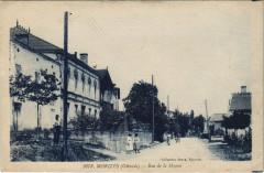 Morizés - Rue de la Mairie - Morizès