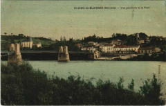 Saint-Jean de Blaignac-Vue générale et le Pont - Blaignac