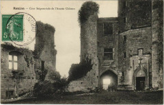 Rauzan-Cour Seigneuriale de l'Ancien Chateau - Rauzan