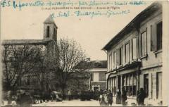 Puisseguin Saint-EMILIONnais-Avenue de l'Eglise - Puisseguin