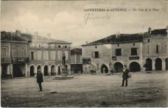 Sauveterre de Guyenne-un Coin de la Place - Sauveterre-de-Guyenne