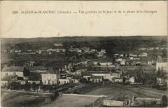 Saint-Jean de Blaignac-Vue générale de Saint-Jean et de la plaine - Blaignac