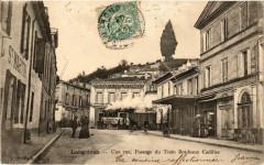 Langoiran une Rue-Passage du Train Bordeaux Cadillac - Langoiran
