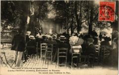 Fronsac un concert dans l'intérieur du Parc - Fronsac