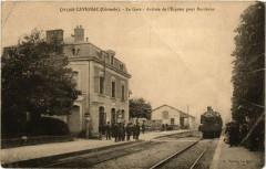Cavignac La Gare-Arrivée de l'Express pour Bordeaux - Cavignac