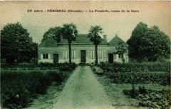Périssac La Pradelle route de la Gare - Périssac