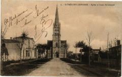 Saint-Trélody-Lesparre - Eglise et Cours Saint-Léonard - Saint-Léon