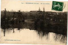 Monsegur (Gironde) - un coin du Drot - Monségur