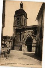 Rions (Gironde) - Le Clocher de l'Eglise Saint-Seurin - Rions