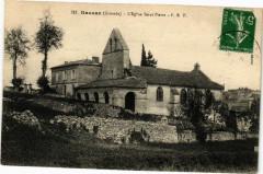 Rauzan (Gironde) - L'Eglise Staint-Oierre - Rauzan