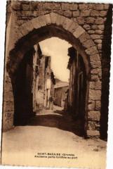 Saint-Macaire (Gironde) - Ancienne porte fortifiée au port - Saint-Macaire