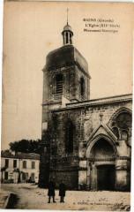 Rions (Gironde) - L'Eglise (Xii Siécle) - Monument historique - Rions