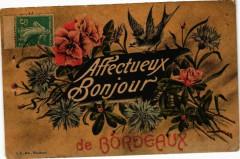 Affectuex Bonjour de Bordeaux 33 Bordeaux