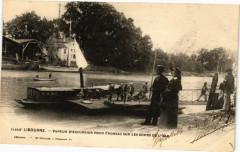 Libourne-Vapeur D'excursion Pour Fronsac sur les Bords de L'Isle - Fronsac