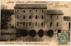 Guitres pres Libourne-Moulin de la Moulinasse sur le Lary - Guîtres