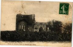 Galgon pres Libourne Ruines de l'ancienne Eglise de Queynac - Galgon