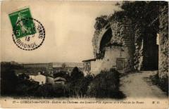 Cubzac-les-Ponts-Entrée du Chateau des Quatre-Fils Aymon et le Pont - Cubzac-les-Ponts