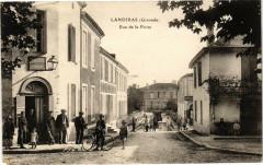 Landiras - Rue de la poste - Landiras