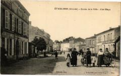 Etauliers - Entrée de la ville - Cote Blaye - Étauliers